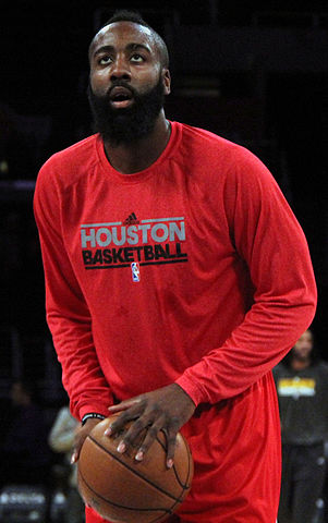 James Harden Rockets Star