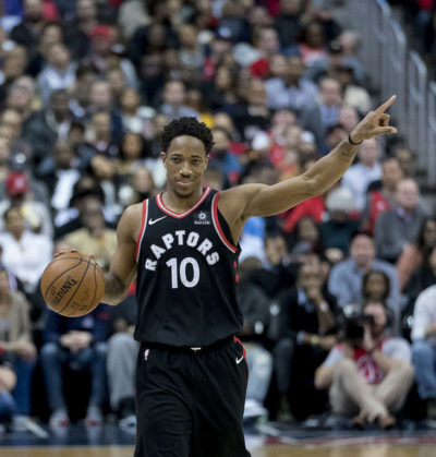 DeMar DeRozan, credit Keith Allison on Flickr